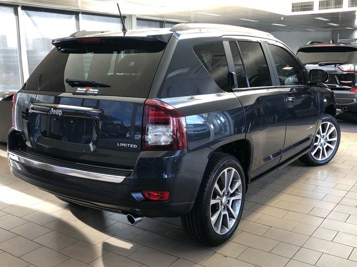 2016 Jeep Compass Limited MK MY16 Four Wheel Drive Grey