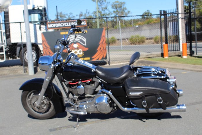 2004 Harley-davidson FLHRSI ROAD KING CUSTOM Black