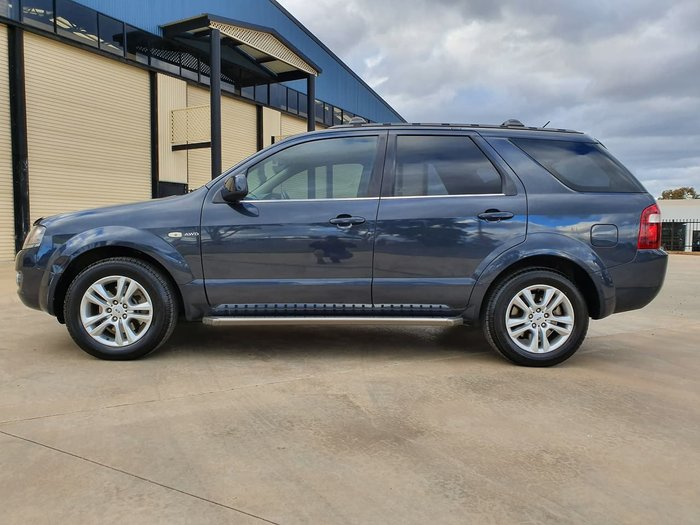 2010 Ford Territory TS Limited Edition SY MKII Blue