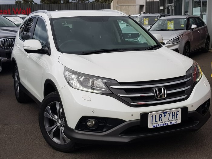 2015 Honda CR-V DTi-L Limited Edition RM Series II MY15 4X4 On Demand White