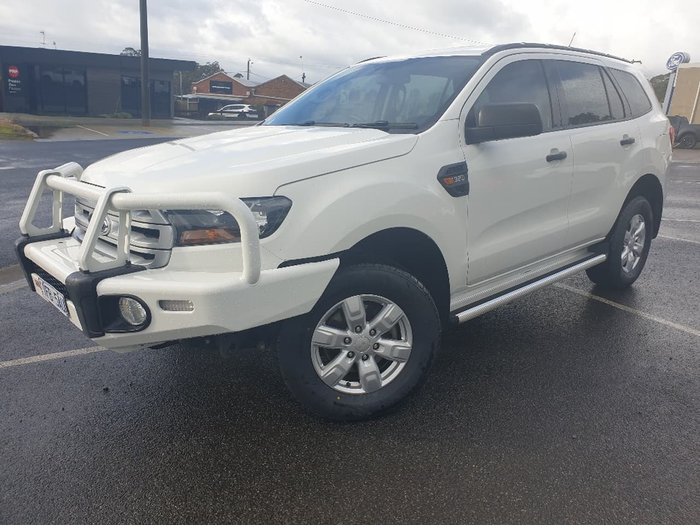 2015 Ford Everest Ambiente UA 4X4 Dual Range White