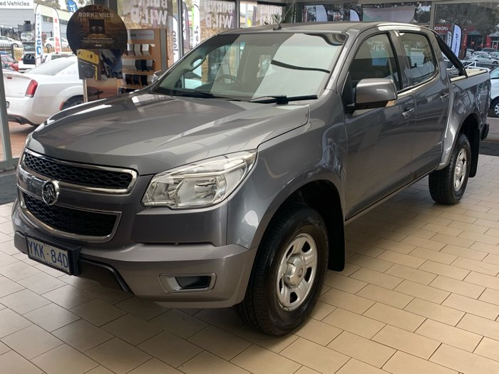 2014 Holden Colorado LS RG MY15 4X4 Dual Range Grey