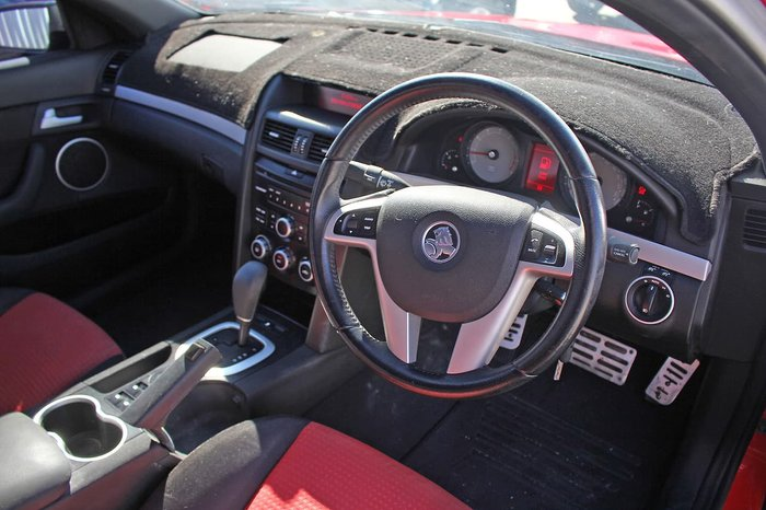 2009 Holden Commodore SV6 VE MY09.5 Red
