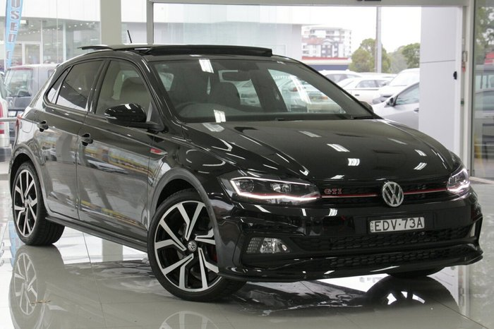 2019 Volkswagen Polo GTI AW MY20 BLACK