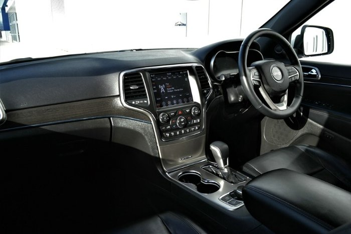 2018 Jeep Grand Cherokee Limited WK MY18 4X4 Dual Range BRIGHT WHITE