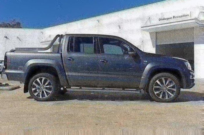 2019 Volkswagen Amarok V6 TDI580 Ultimate 4M DC Ute 3.0L 8A MY19 4WD Indium Grey Metallic