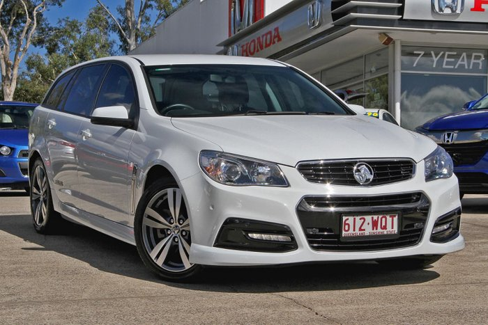 2013 Holden Commodore SS VF MY14 White
