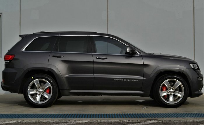 2013 Jeep Grand Cherokee SRT WK MY14 4X4 On Demand GREY