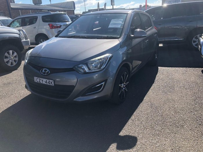 2012 Hyundai i20 Active PB MY12 Grey