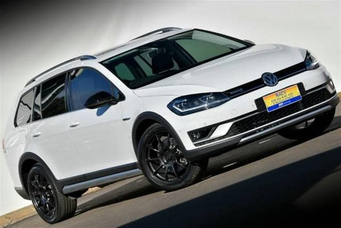 2018 Volkswagen Golf Alltrack 132TSI Premium 7.5 MY19 Four Wheel Drive White