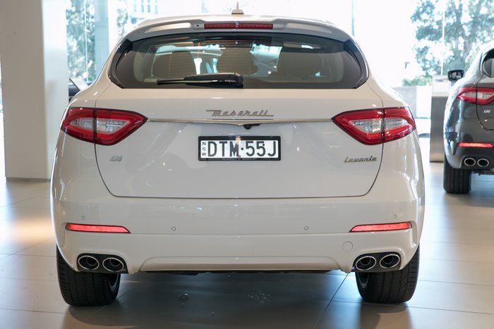 2018 Maserati Levante GranSport M161 MY18 BIANCO