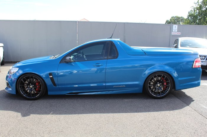 2014 Holden Special Vehicles Maloo R8 GEN-F MY14 Blue