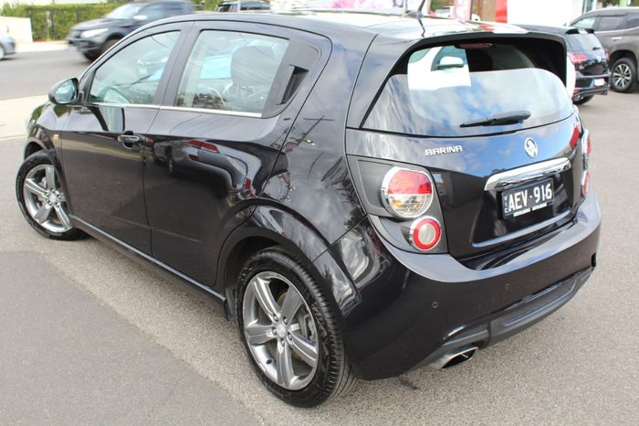 2014 Holden Barina RS TM MY15 Black