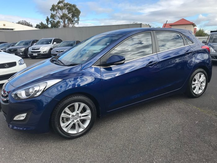 2012 Hyundai i30 Elite GD Blue