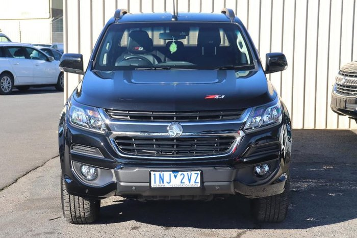 2018 Holden Colorado Z71 RG MY18 4X4 Dual Range Black