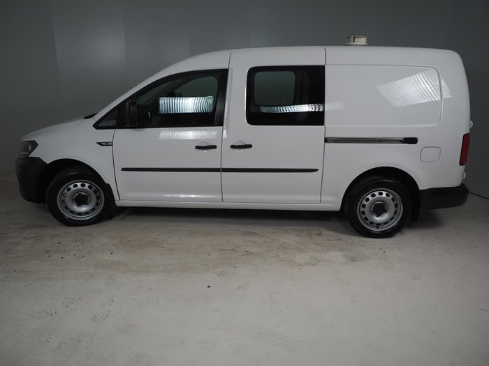 2017 Volkswagen Caddy TSI220 2KN MY18 White
