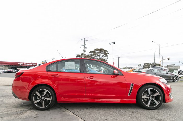 2017 Holden Commodore SV6 VF Series II MY17 Red