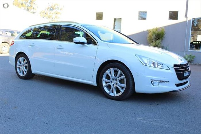 2012 Peugeot 508 Allure (No Series) White