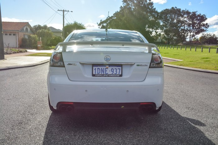2010 Holden Commodore SV6 VE Series II White