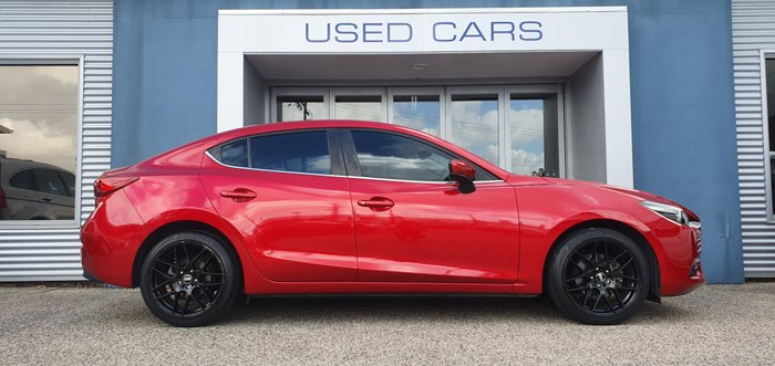 2016 Mazda 3 Touring BM Series RED
