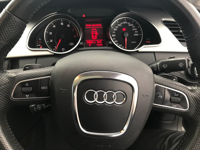 2008 Audi A5 8T MY09 Four Wheel Drive Black