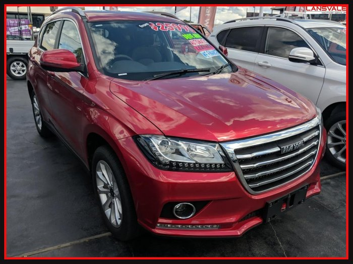2019 Haval H2 SCARLET RED