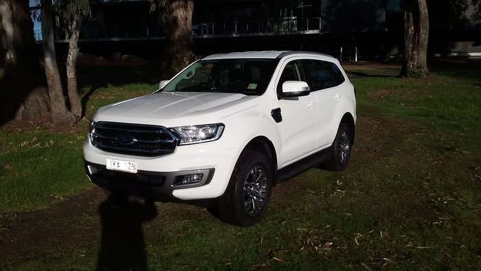 2018 Ford Everest Trend UA II MY19 White