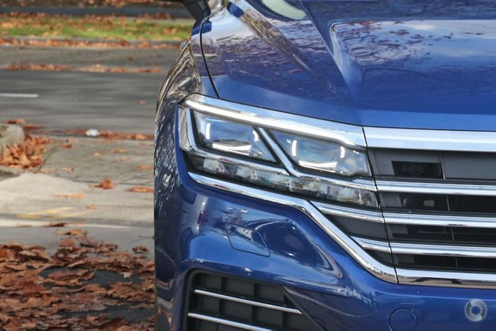 2019 Volkswagen Touareg 190TDI Launch Edition CR MY19 Four Wheel Drive Blue