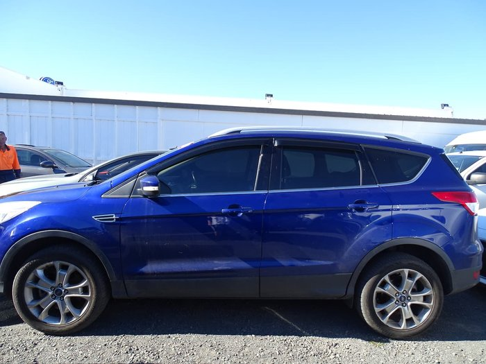 2015 Ford Kuga Trend TF MkII MY15 4X4 On Demand Blue