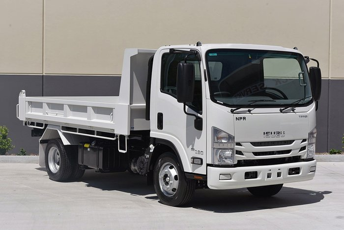 2019 Isuzu NPR 65/45-190 Factory Tipper White