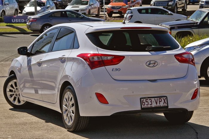 2014 Hyundai i30 Active GD2 MY14 White