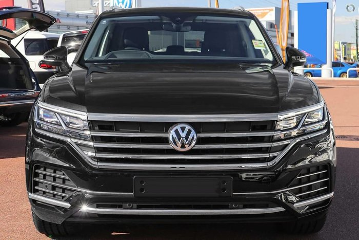 2019 Volkswagen Touareg 190TDI Launch Edition CR MY19 Four Wheel Drive Black