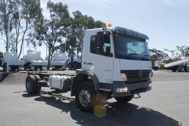 2008 Mercedes Benz 1629 Atego EWP WHITE