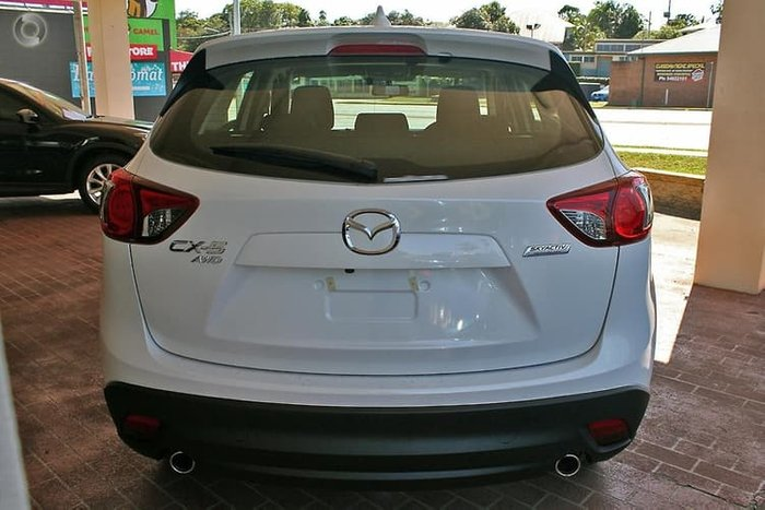 2013 Mazda CX-5 Maxx Sport KE Series MY13 Four Wheel Drive White