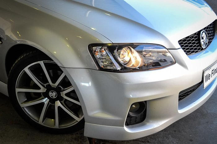 2011 Holden Commodore SS V VE Series II Silver