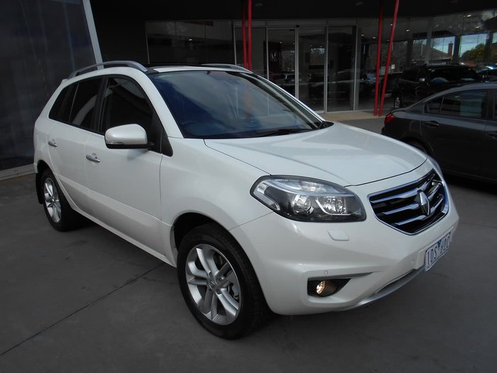 2013 Renault Koleos Privilege H45 PHASE II 4X4 On Demand White