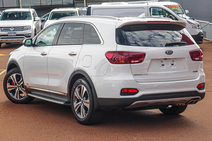 2019 Kia Sorento GT-Line UM MY19 4X4 On Demand White