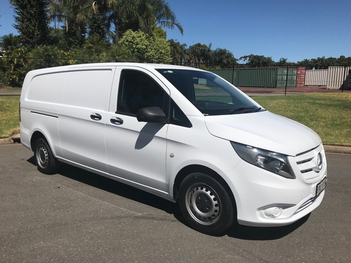 0 Mercedes Benz Vito 114CDI White