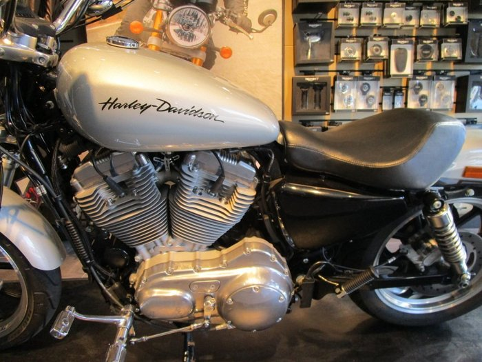 2014 Harley-Davidson XL883L SUPER LOW Silver