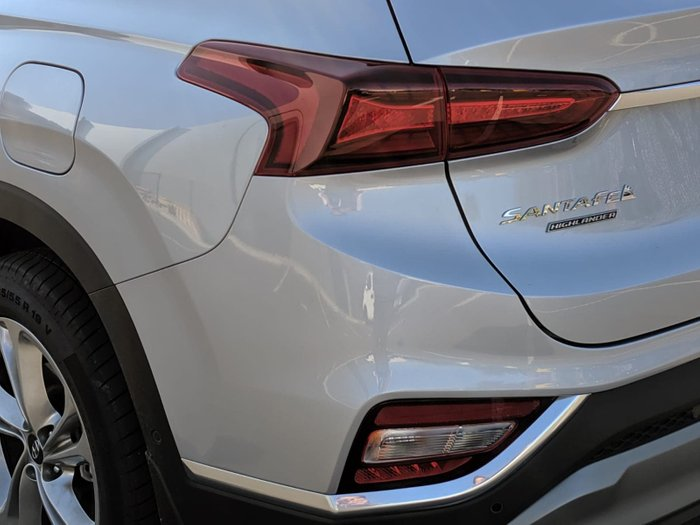2019 Hyundai Santa Fe Highlander TM MY19 4X4 On Demand Silver