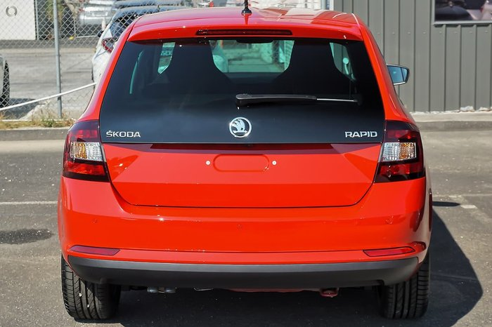 2018 SKODA Rapid NH MY19 Red