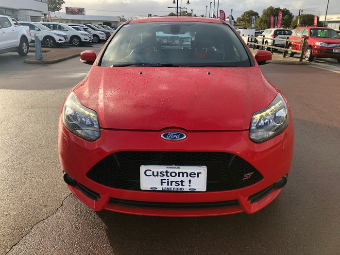2014 Ford Focus ST LW MKII Red