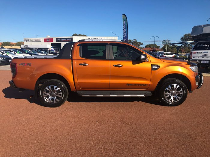 2017 Ford Ranger Wildtrak PX MkII 4X4 Dual Range Orange