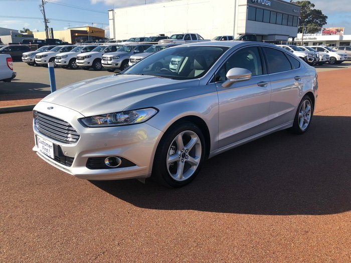 2018 Ford Mondeo Trend MD MY18.25 Silver