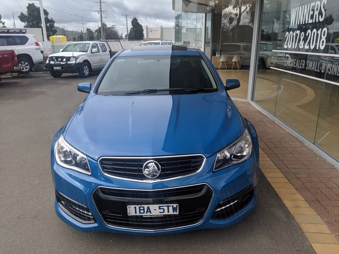2014 Holden Commodore SS VF MY14 Blue