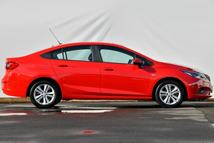2017 Holden Astra LS+ BL MY17 ABSOLUTE RED