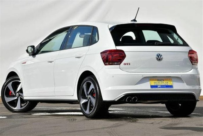 2018 Volkswagen Polo GTI AW MY19 White