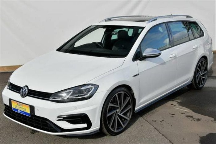 2018 Volkswagen Golf R 7.5 MY18 Four Wheel Drive White