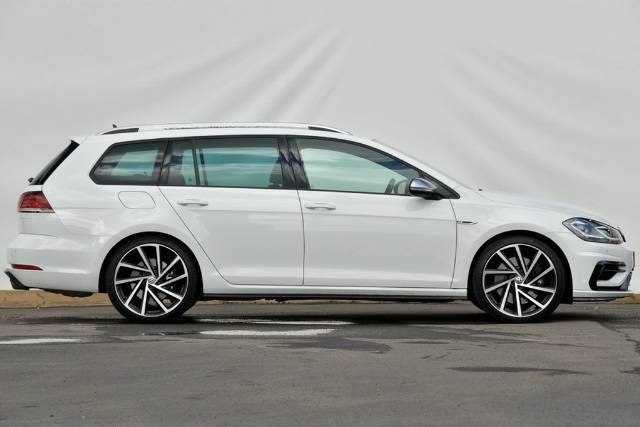 2018 Volkswagen Golf R 7.5 MY18 Four Wheel Drive PURE WHITE