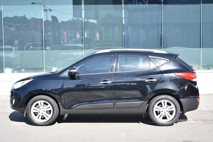 2012 Hyundai ix35 Elite LM MY12 Four Wheel Drive Black